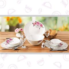 28Pcs Dinner Ware - Lavender207